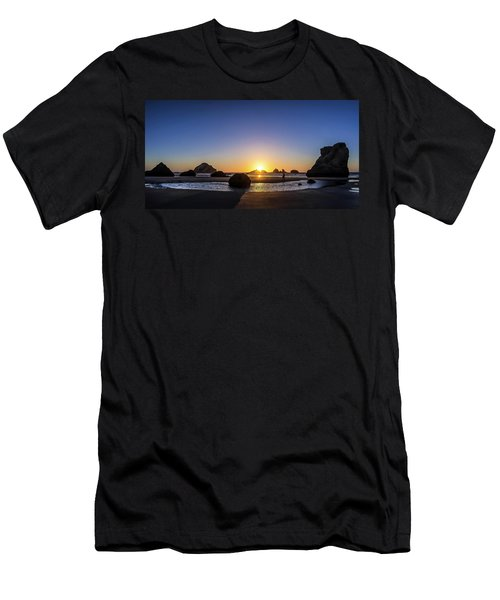 Day's End At Bandon Men's T-Shirt (Athletic Fit)