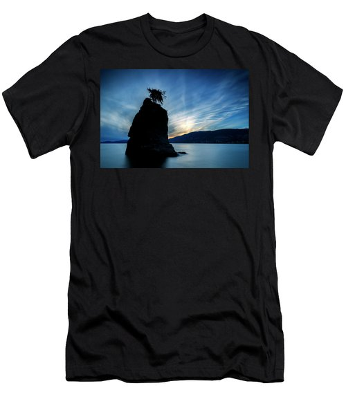 Day's End At Siwash Rock Men's T-Shirt (Athletic Fit)