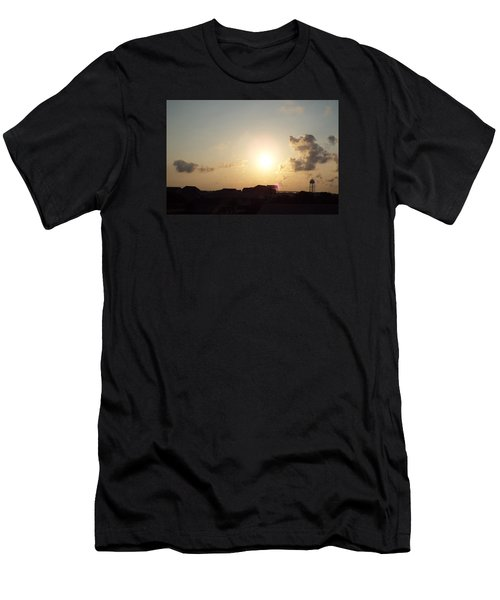 Days End Men's T-Shirt (Slim Fit) by Jake Hartz