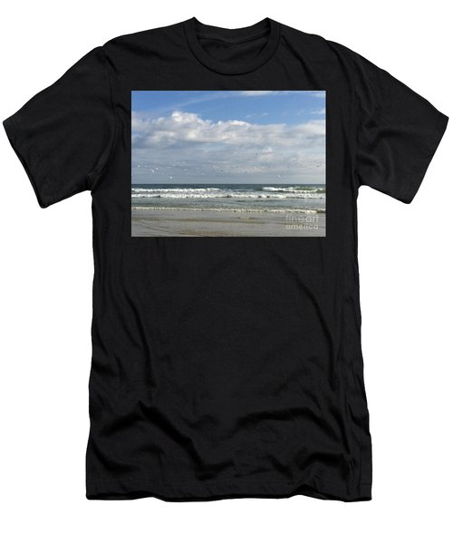 Daytona Beach 3 Men's T-Shirt (Athletic Fit)