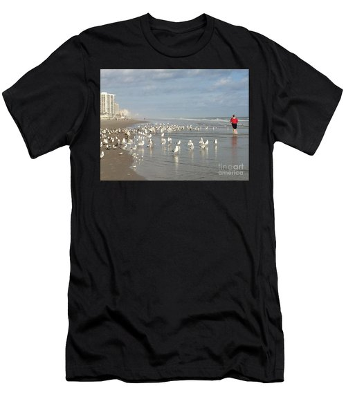 Daytona Morning Men's T-Shirt (Athletic Fit)