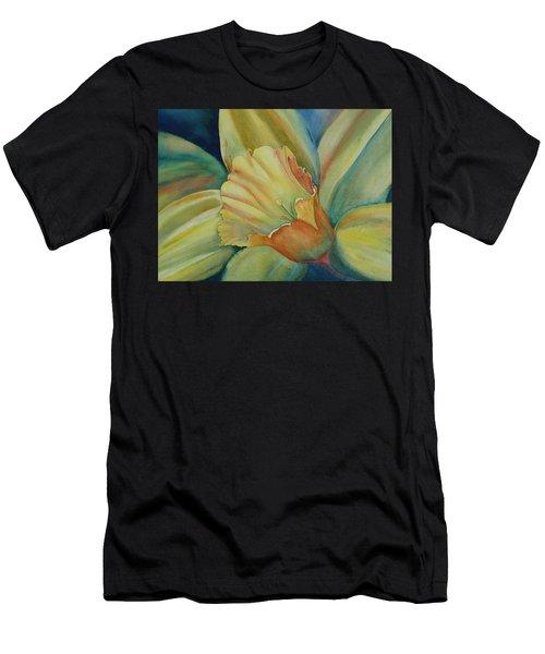 Dazzling Daffodil Men's T-Shirt (Athletic Fit)