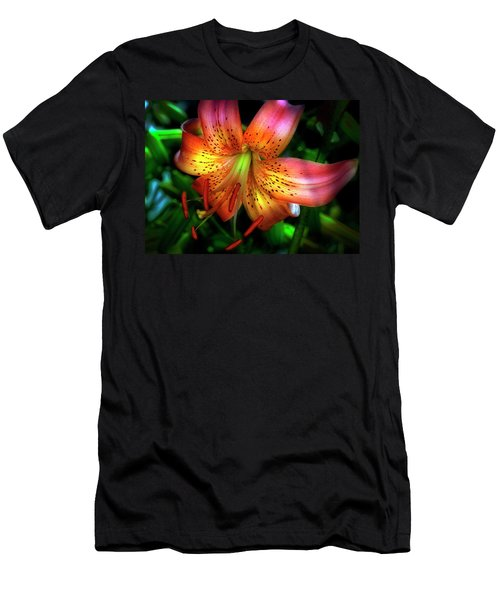 Dazzling Daylily  Men's T-Shirt (Athletic Fit)