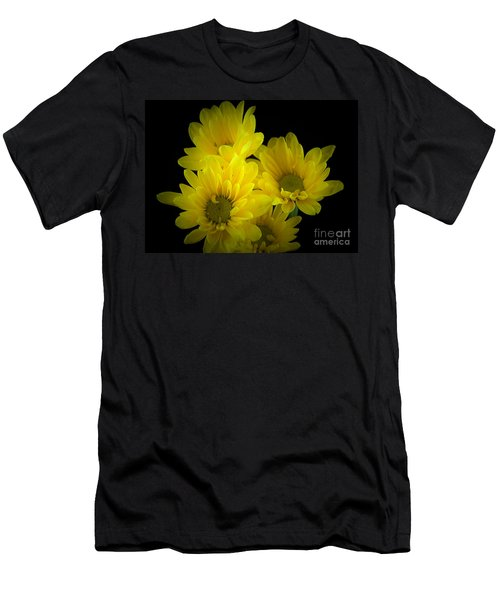 Dazzling Yellow Men's T-Shirt (Athletic Fit)