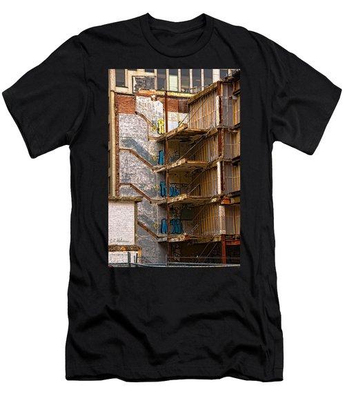 De-construction Men's T-Shirt (Athletic Fit)