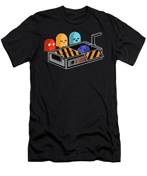 Dead Ghost Men's T-Shirt (Slim Fit) by Opoble Opoble