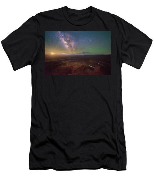 Men's T-Shirt (Athletic Fit) featuring the photograph Dead Horse Dreams by Darren White