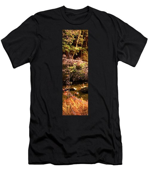 1 Of 6 Dead River Falls  Marquette Michigan Section Men's T-Shirt (Athletic Fit)
