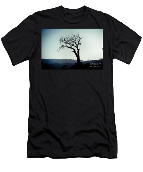 Dead Tree At The Sky Men's T-Shirt (Athletic Fit)