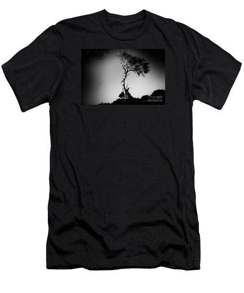 Dead Tree Bw Men's T-Shirt (Athletic Fit)