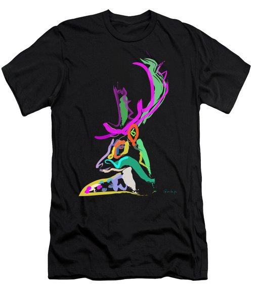 Dear Deer Men's T-Shirt (Athletic Fit)