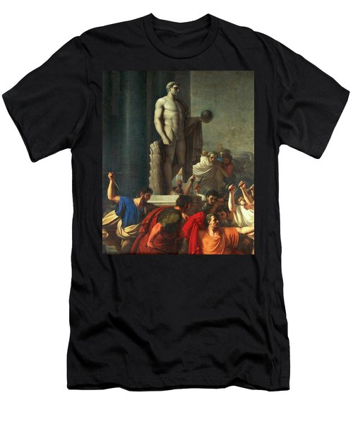 Death Of Caesar, March 15, 44 Bc Men's T-Shirt (Athletic Fit)