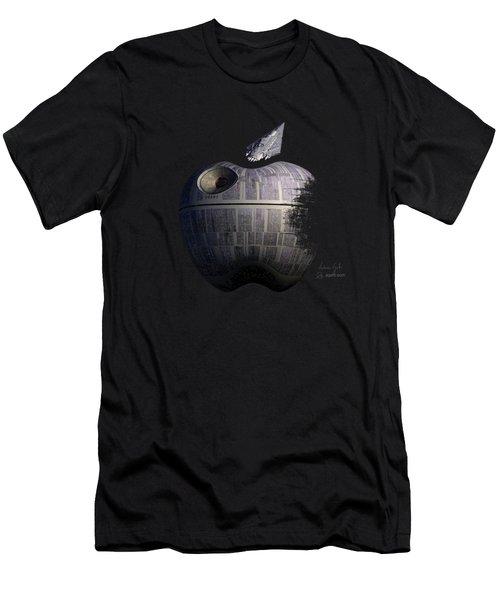 Death Star Apple Men's T-Shirt (Athletic Fit)