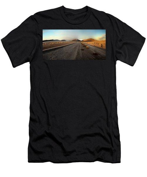 Death Valley Hitch Hiker Men's T-Shirt (Athletic Fit)