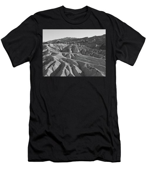 Men's T-Shirt (Athletic Fit) featuring the photograph Death Valley Rock Formations by Frank DiMarco