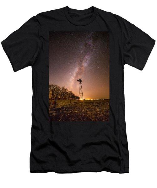 December Night  Men's T-Shirt (Athletic Fit)