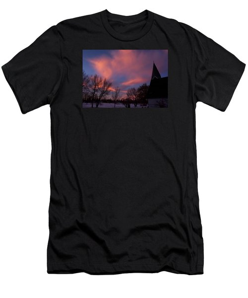 December Skies Men's T-Shirt (Athletic Fit)