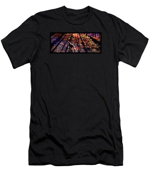 December Walk In The Blue Ridge Men's T-Shirt (Athletic Fit)