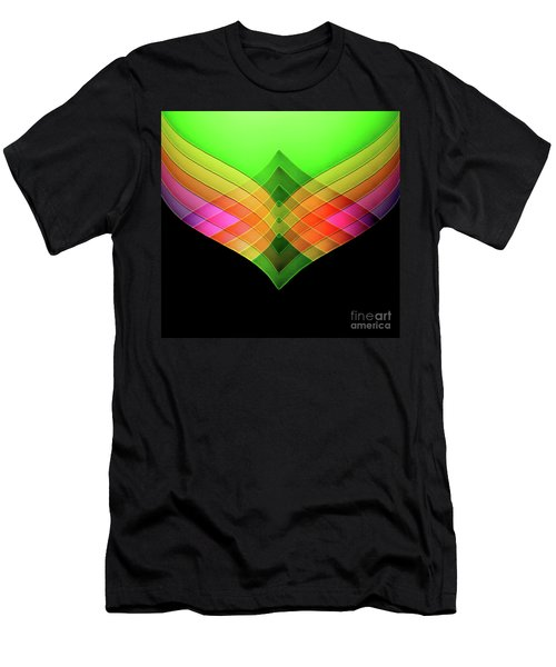 Decorative Men's T-Shirt (Athletic Fit)