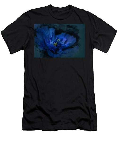 Deep Blue Men's T-Shirt (Athletic Fit)