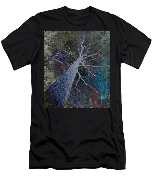 Men's T-Shirt (Athletic Fit) featuring the photograph Deep In The Woods by Marianna Mills - Anthony Quinn