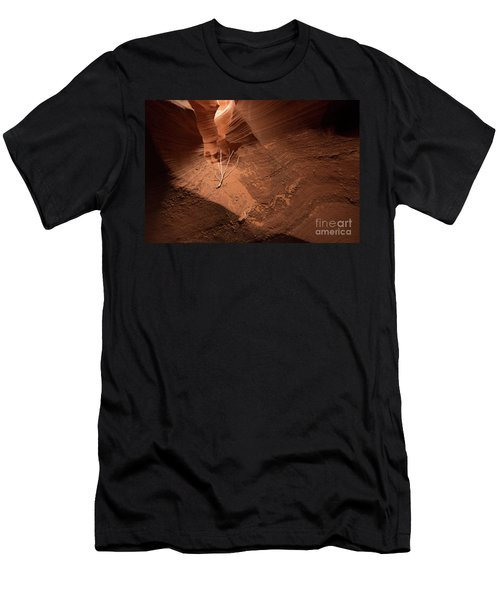 Deep Inside Antelope Canyon Men's T-Shirt (Athletic Fit)