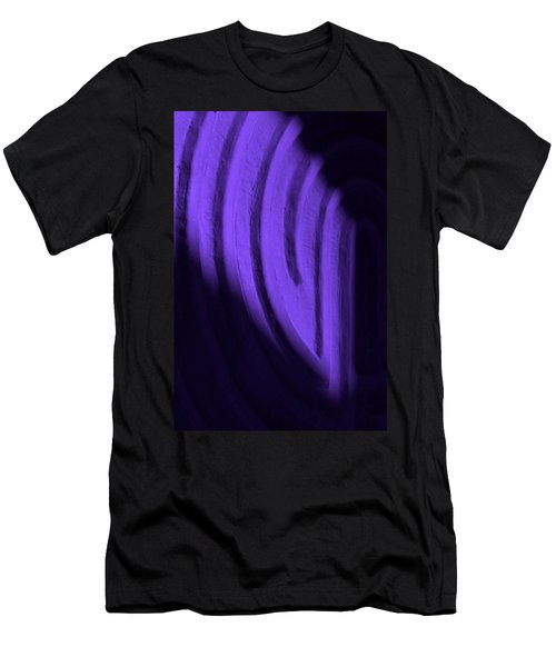 Deep Maze Men's T-Shirt (Slim Fit) by Josephine Buschman