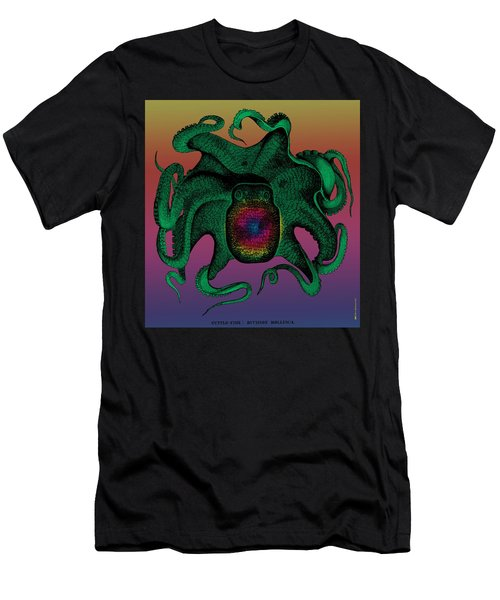 Deep Monster Number Two Men's T-Shirt (Athletic Fit)