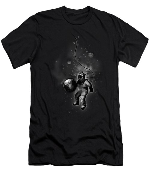 Deep Sea Space Diver Men's T-Shirt (Slim Fit) by Nicklas Gustafsson