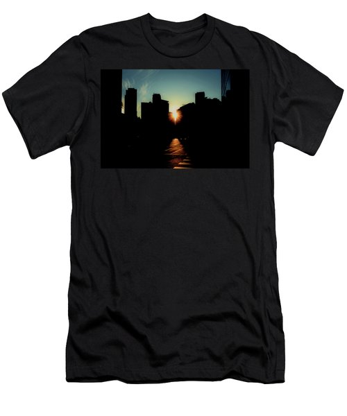 Deep Shadow Men's T-Shirt (Athletic Fit)