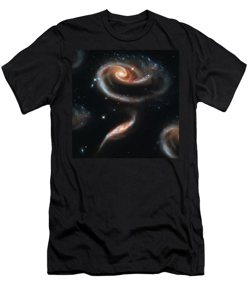 Deep Space Galaxy Men's T-Shirt (Athletic Fit)