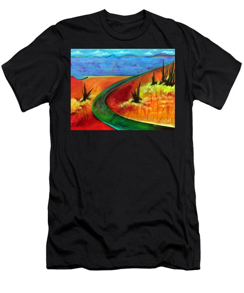Deeper Than It Seems Men's T-Shirt (Slim Fit) by Elizabeth Fontaine-Barr