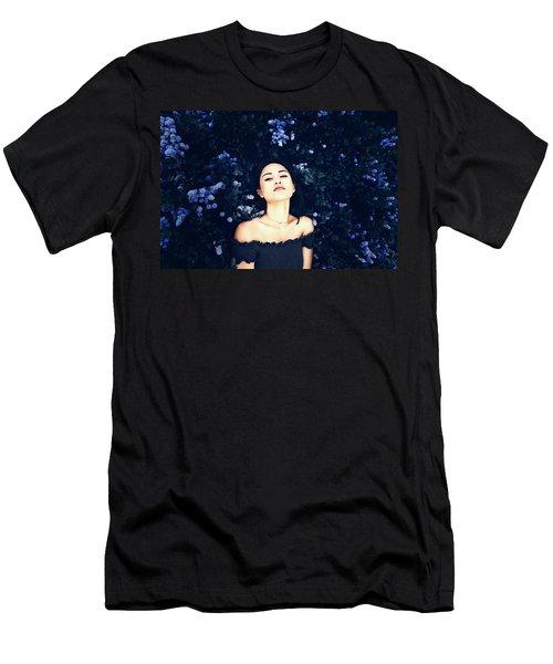 Deepest Blue Men's T-Shirt (Athletic Fit)