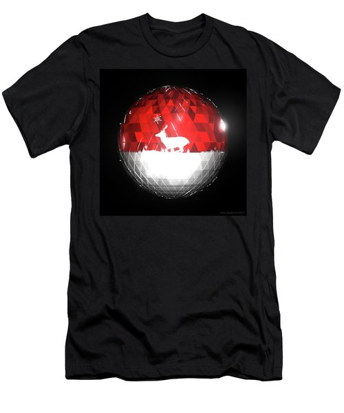 Deer Bauble - Frame 103 Men's T-Shirt (Athletic Fit)