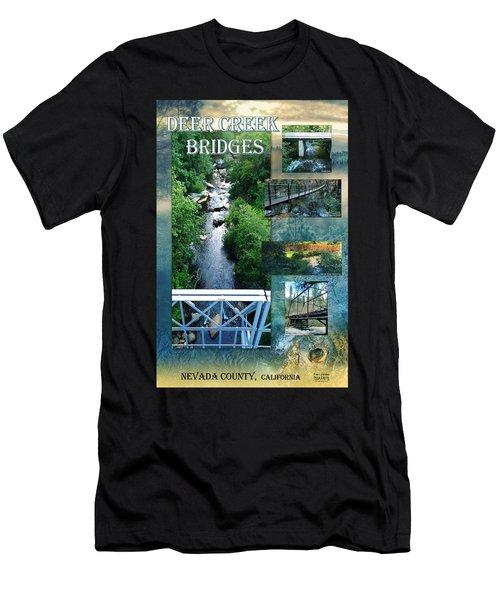 Deer Creek Bridges Men's T-Shirt (Athletic Fit)