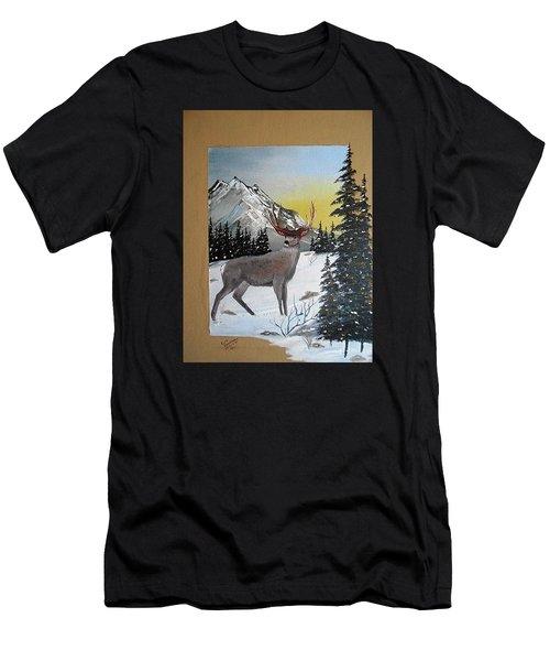 Deer Hunter's Dream Men's T-Shirt (Athletic Fit)
