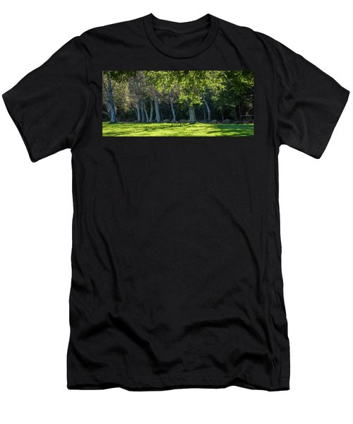 Deer In The Afternoon Sun Men's T-Shirt (Athletic Fit)