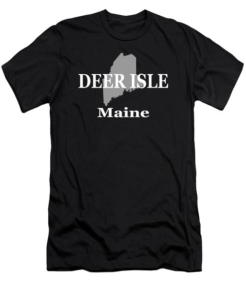 Deer Isle Maine State City And Town Pride  Men's T-Shirt (Athletic Fit)