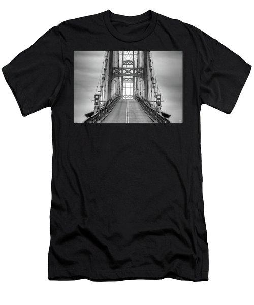 Deer Isle Sedgwick Bridge Men's T-Shirt (Athletic Fit)