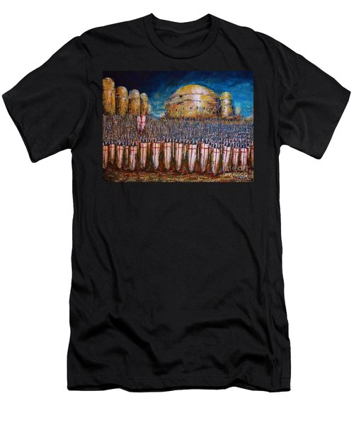 Defence Of Jerusalem Men's T-Shirt (Athletic Fit)