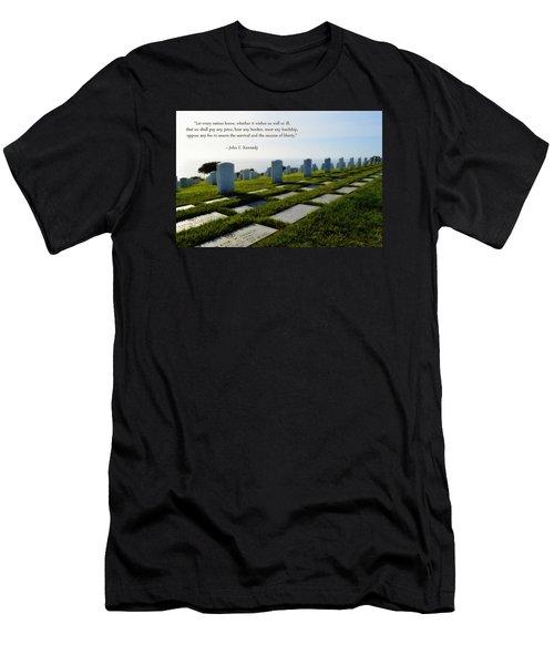 Defending Liberty Men's T-Shirt (Athletic Fit)