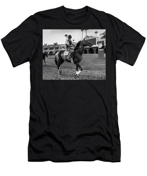 Del Mar Show Off Men's T-Shirt (Athletic Fit)