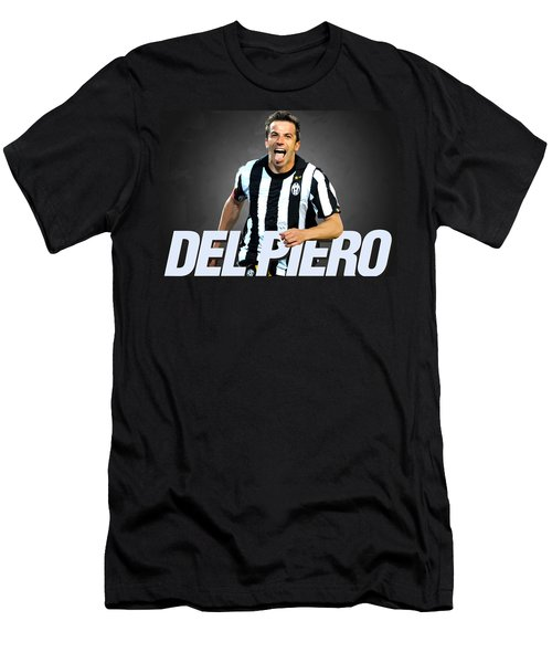 Del Piero Men's T-Shirt (Slim Fit) by Semih Yurdabak