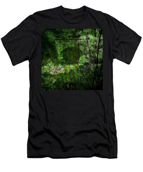 Delaware Green Men's T-Shirt (Athletic Fit)