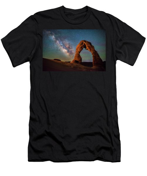 Men's T-Shirt (Athletic Fit) featuring the photograph Delicate Air Glow by Darren White