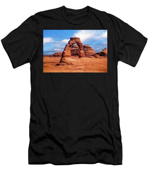 Delicate Arch From Lower Viewpoint Men's T-Shirt (Athletic Fit)