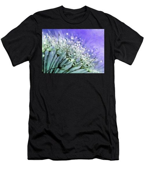Delicate Dandelions Men's T-Shirt (Athletic Fit)