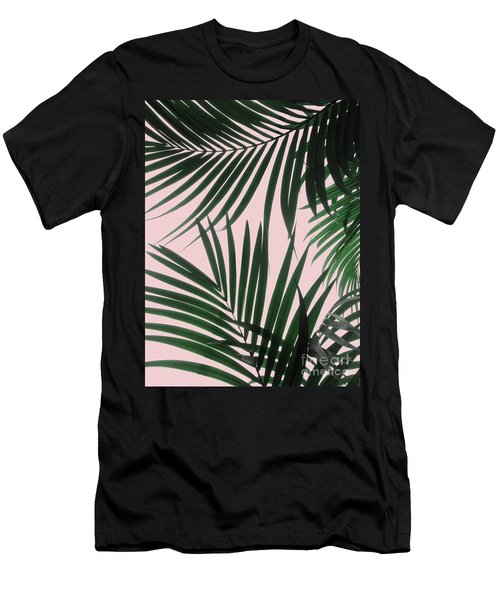 Delicate Jungle Theme Men's T-Shirt (Athletic Fit)