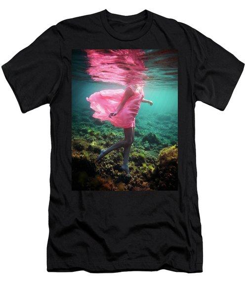 Delicate Mermaid Men's T-Shirt (Athletic Fit)