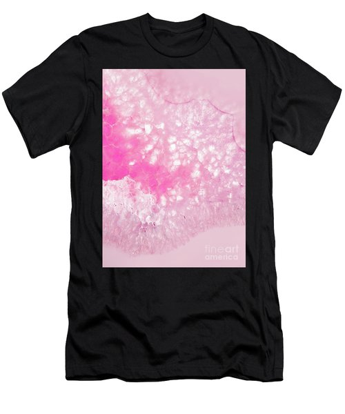 Delicate Pink Agate Men's T-Shirt (Athletic Fit)